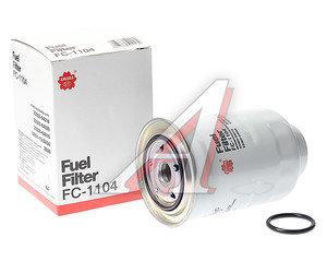 Фильтр топливный TOYOTA Land Cruiser MITSUBISHI Pajero (06-) SAKURA FC1104, KC83/KC83D, 2339030180/1770A055/1770A053