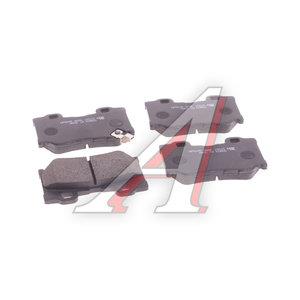 Колодки тормозные INFINITI FX35 (S51) (08-) задние (4шт.) HSB HP5249, GDB3515, D4060-JL00J