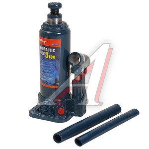 Домкрат бутылочный 3т 194-372мм с клапаном MEGAPOWER M-90304, ДГТ3-3913010