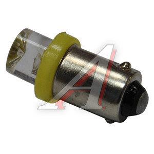 Лампа 12VхT4W (BA9s) CONE YELLOW 1 свет-од MEGA ELECTRIC ME-0411Y, А12-4-1