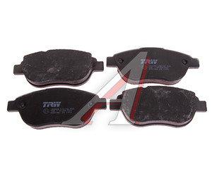Колодки тормозные PEUGEOT 307 CITROEN Xsara (2.0/HDi) (02-) передние (4шт.) TRW GDB1464, 425492/425489