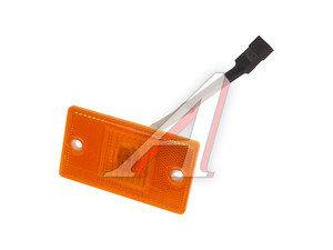 Фонарь габаритный оранжевый с проводом (светодиод, 24V, 65х115мм) Руденск 4462.3731
