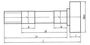 Кулак разжимной МАЗ колодок тормозных передних правый L=271/227 ТАИМ 64221-3501110, 64221-3501110/111