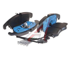 Колодки тормозные AUDI A6 (11-),A7 передние (4шт.) TRW GDB1908, 4G0698151D/2474301/GDB1768