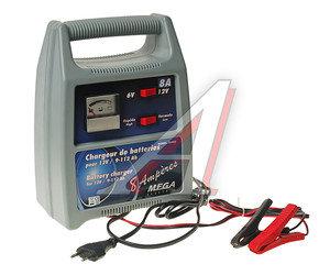 Устройство зарядное 6V-12V 8А 220V (автомат) DETROIT ELECTRIC S-54080/03422, S-54080