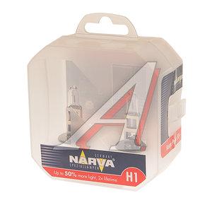 Лампа 12V H1 55W +50% P14.5s бокс (2шт.) Range Power NARVA 483342100, N-48334RP2, А12-55(Н1)