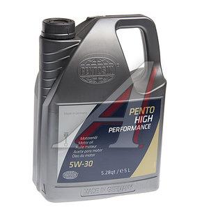 Масло моторное PENTOSIN High Performance синт.5л PENTOSIN SAE5W30, 7184