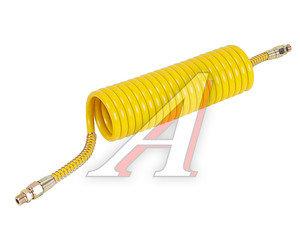 Шланг пневматический витой М16 L=5.5м (желтый) СТАНДАРТ AIR FLEX М16 L=5.5м (желтый) (PE) R, AIR FLEX М16 L=5.5м (желтый) (PE)