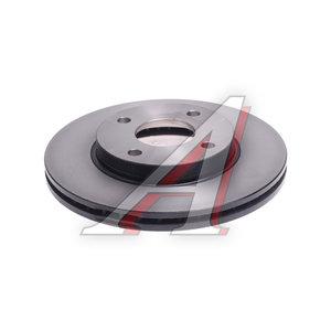 Диск тормозной FORD Focus (98-05),Fusion (01-) передний (1шт.) TRW DF4036, 3573537/1320585/3555344/1522230