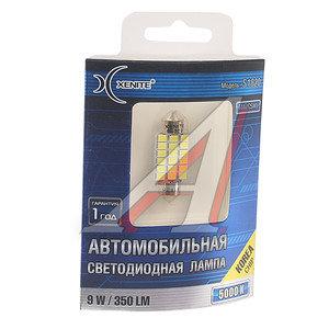 Лампа светодиодная 12/24V C5W 2.4W SV85-36 бокс (1шт.) XENITE 1009329