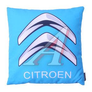Подушка автомобильная CITROEN (35х35см) антистрессовая голубая MAGIC BALLS CK-00087