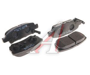 Колодки тормозные MITSUBISHI Lancer,Outlander (03-) DODGE Caliber (06-) задние (4шт.) HSB HP8302, GDB3341, MZ690350