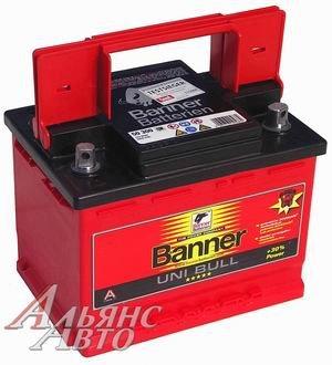 Аккумулятор BANNER Uni Bull 69А/ч двойная полярность 6СТ69 50 300, 83369