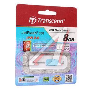 Карта памяти USB 8Gb TRANSCEND JF530 USB 2.0 TRANSCEND TS8GJF530, TS8GJF530