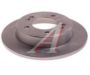 Диск тормозной HYUNDAI Elantra (11-) задний (1шт.) VALEO PHC R1095, DF6627, 58411-3X300