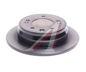Диск тормозной HYUNDAI Elantra (06-),i30,ix35 KIA Ceed,Sportage (10-) задний (1шт.) TRW DF6123, 58411-1H100/58411-1H300