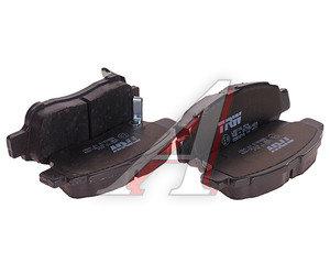 Колодки тормозные TOYOTA Yaris (1.0-1.3) (99-03) передние (4шт.) TRW GDB3218, 04465-52041/04465-52031/04465-52040/04465-YZZCJ