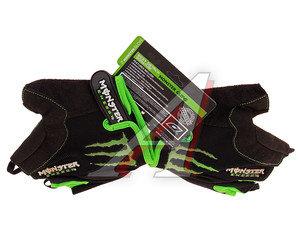 Перчатки велосипедные L амара/гель MONSTER ENERGY L