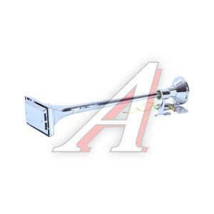 Сигнал пневматический 24V 1-о рожковый хром ТОП АВТО СЗ-640К