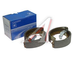 Колодки тормозные DAEWOO Nexia,Espero,Lanos,Nubira (88-) задние барабанные (4шт.) OE 93747045