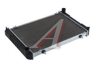 Радиатор ГАЗ-3302 алюминиевый 2-х рядный Н/О HERZOG 3302-1301010, HG2 1010/HG2 1010-2, ЛР3302.1301010