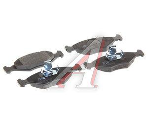 Колодки тормозные FIAT Palio (96-) передние (4шт.) TRW GDB1533, 71738155