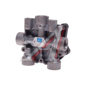 Клапан MAN MERCEDES защитный 4-х контурный WABCO-версия (1хМ22х1.5мм 4хМ22х1.5мм) DIESEL TECHNIC 3.72084, AE4609/II37460/9347144000, 81521516098