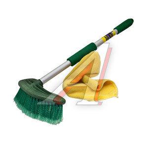 Щетка для мытья автомобиля мягкая ручка 54см CITY UP CA-608