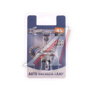 Лампа 12V H4 55W P43t +30% блистер 1шт. XENITE 1007089