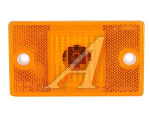 Фонарь габаритный оранжевый полуприцепа (24V, 65х115 мм) Руденск 4422.3731