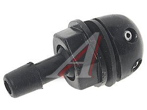 Жиклер ВАЗ-2123 омывателя двойной с гайкой черный AVDA 2123-5208060, 13543