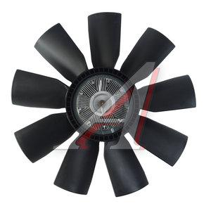 Вентилятор КАМАЗ-ЕВРО 660мм с вязкостной муфтой в сборе (дв.740.30,31 до 2007г.) 18223-3, 6311403A