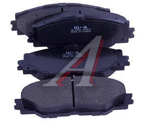 Колодки тормозные TOYOTA Auris (07-),Rav 4 (09-,13-) передние (4шт.) SANGSIN SP2138, GDB3424, 04465-42180/04465-42190