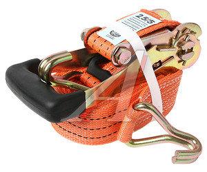 Стяжка крепления груза 5т 6м-50мм (полиэстер) с храповиком ТОП АВТО РК4506