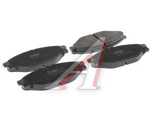 Колодки тормозные TOYOTA Haice передние (4шт.) TRW GDB3109, 04491-26240/04465-35220/04465-YZZAC