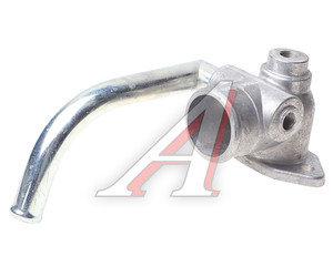Патрубок МАЗ от радиатора к водяному насосу металлический СМ 6422-1303240