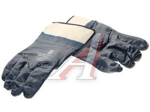 Перчатки нитриловые обливные П028