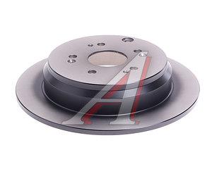 Диск тормозной HONDA CR-V (02-) задний (1шт.) TRW DF7374, 42510-SWW-G01/42510S-9AE50/42510-SCA-E50