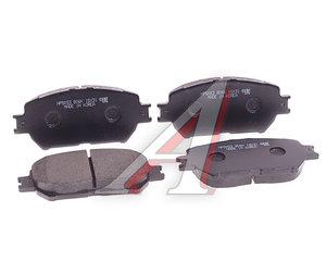 Колодки тормозные TOYOTA Camry (01-) передние (4шт.) HSB HP5053, GDB7224, 04465-33250