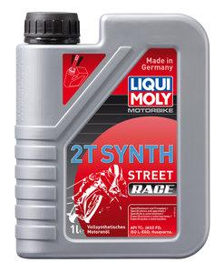Масло моторное для 2-х тактных двигателей RACING SYNTH 2T синт.1л LIQUI MOLY LM 3980, 84214