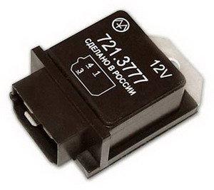 Реле стеклоочистителя ГАЗ-3102,3110 ЭМ 721.3777, 721.3777 (аналог 931.3747), 931.3747