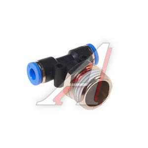 """Фитинг для пластиковых трубок 1/2"""" Т-образный 6мм с наружной резьбой ROCK FORCE RF-SPB06-04"""