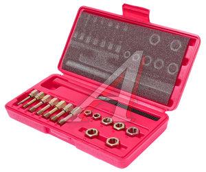 Набор инструментов для восстановления резьбы М6х1.0-М12х1.75мм в кейсе 15 предметов JTC JTC-3916