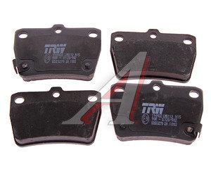 Колодки тормозные TOYOTA Rav 4 (00-05) задние (4шт.) TRW GDB3279, 04466-42020/04466-42030/04466-42040/04466-42050