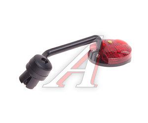Зеркало велосипедное с красным фонариком NTB17110