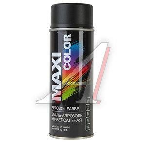 Краска черная матовая аэрозоль 400мл MAXI COLOR MAXI COLOR 9005, 9005mMX