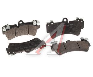 Колодки тормозные VW Touareg AUDI Q7 PORSHE Cayenne (02-) R18 передние (4шт.) HSB HP9661, GDB1548, 7L0698151J