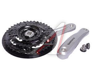 Система велосипедная 170мм 42/32/22T защита серебро SHIMANO EFCM311C222CS