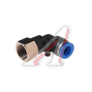 """Фитинг для пластиковых трубок 3/8"""" угловой 10мм с внутренней резьбой ROCK FORCE RF-SPLF10-03"""