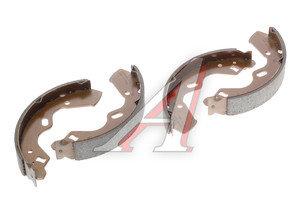 Колодки тормозные MAZDA Demio задние барабанные (4шт.) HSB HS1016, GS8663, D1Y-226-38ZA